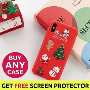 NEW iPhone Max/XR/XS/X/7/8/Plus Christmas Case